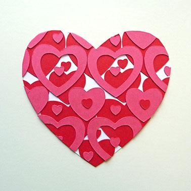 5. Herz ausschneiden