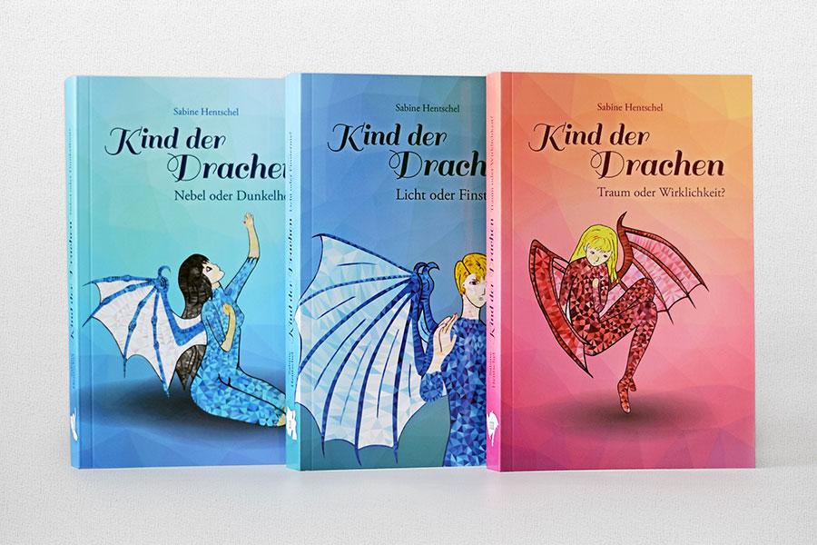 Buchcover »Kind der Drachen« Sabine Hentschel