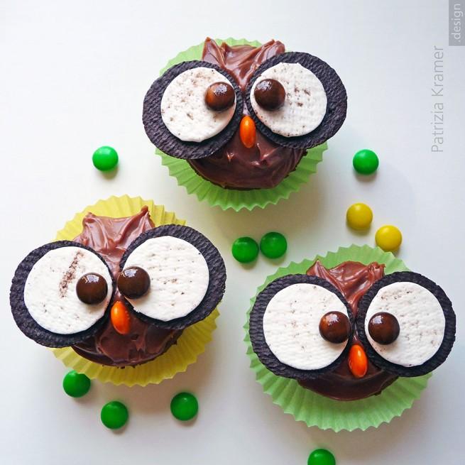 Eulen-Muffins