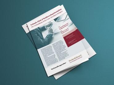 Flyer, Folder, Broschüre, Printdesign, Druck, Messe, Seminar, Jena, Thüringen