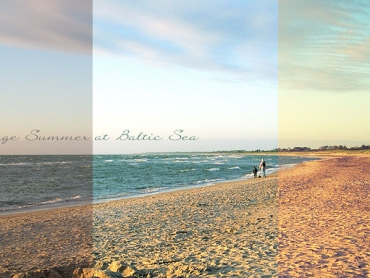 Fotografie, Photography, Fotodesign, Photodesign, Goldene Stunde, Ostsee, Photoshop, Presets, Vintage Summer, Postkarte