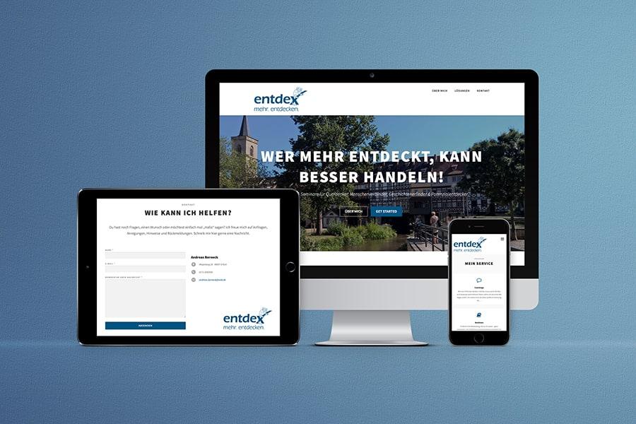 responsives Webdesign, Onepage, Wordpress, Coach, Trainer, Erfurt, Thüringen
