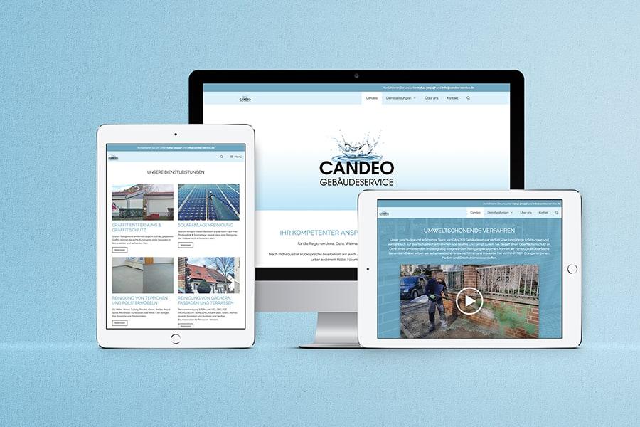 responsive Webdesign, Wordpress, Video, Gebäudeservice, Immobilien, Service, Graffitientfernung, Reinigungstechnik, Jena, Thüringen
