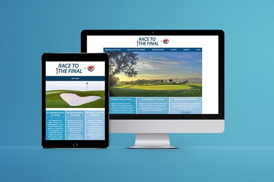 Webdesign, HTML, Golf, Charity, Willich, Nordrhein-Westfalen