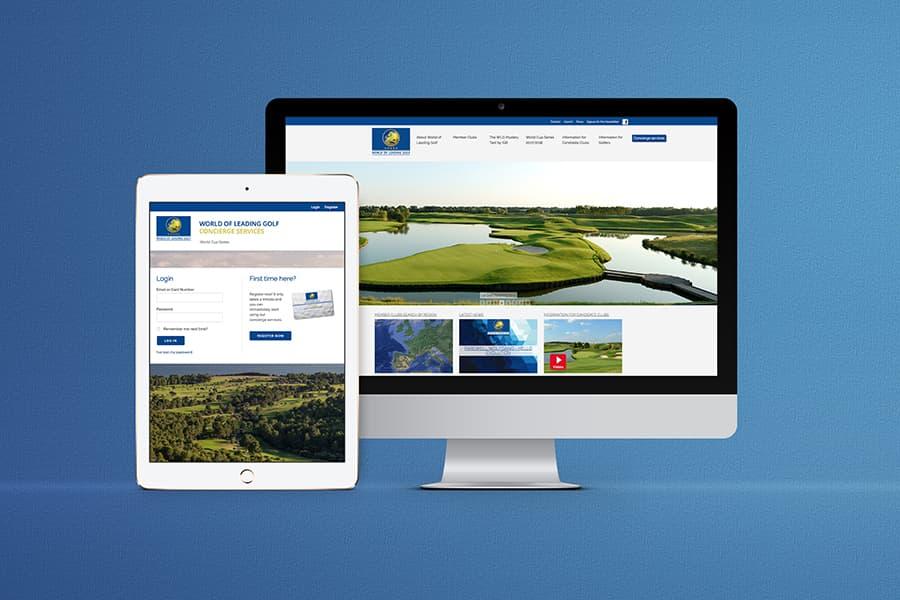 Webdesign, Silverstripe, Golf, Zug, Schweiz