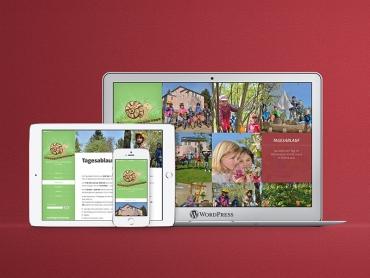 Webdesign, WordPress, Kindergarten, Kita, Montessori, Gotha, Thüringen