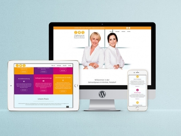 Webdesign, Wordpress, Zahnarzt, Praxis, Troisdorf, Nordrhein-Westfalen, 2018