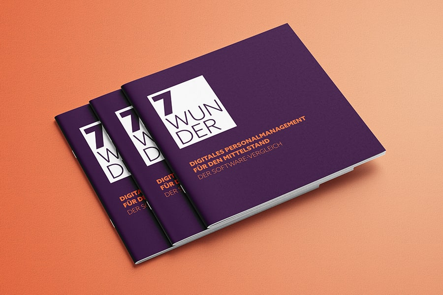 Broschüre, Layout, Tabellen, Grafik, Whitepaper, Grafikdesign, Printdesign, Druck, HR, Personal, Mitarbeiter, Unternehmen, Jena, Thüringen, Marketing