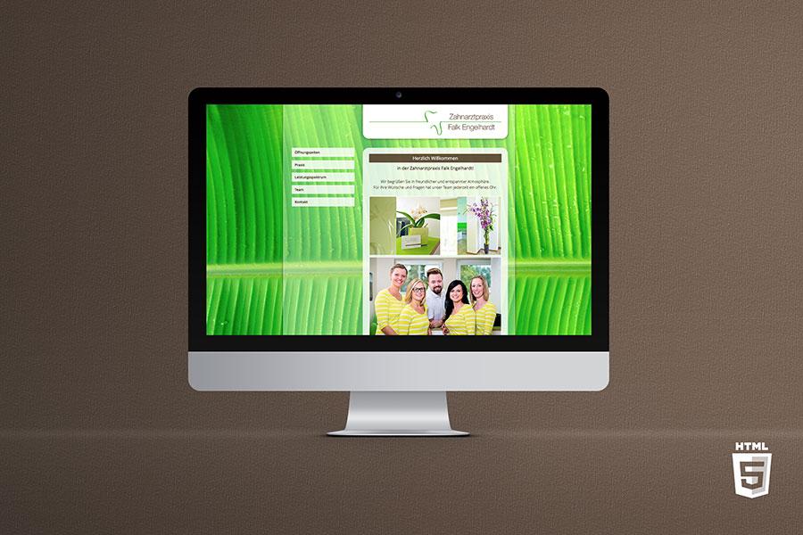 Zahnarzt WordPress WP Webdesign
